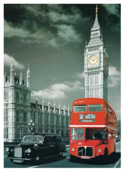 London Inn Bus London Jigsaw Puzzle