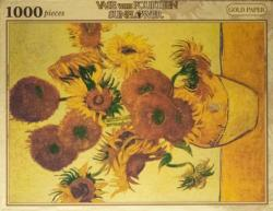 Sunflower (Gold) Sunflower Jigsaw Puzzle