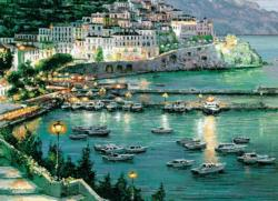 Mediterranean Sea Seascape / Coastal Living Jigsaw Puzzle