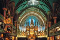 Cathedral Notre Dame Monuments / Landmarks Jigsaw Puzzle