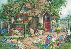Flower Garden Garden Jigsaw Puzzle