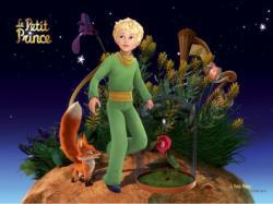 Le Petit Prince Rose Fantasy Jigsaw Puzzle