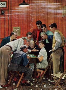 Jury Americana & Folk Art Jigsaw Puzzle