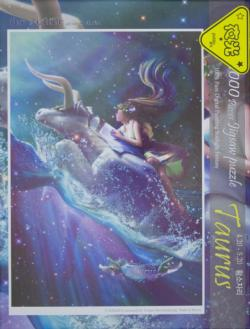 Taurus Luminous Fantasy Jigsaw Puzzle