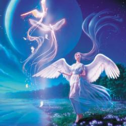 Verge Of Eden Angels Jigsaw Puzzle