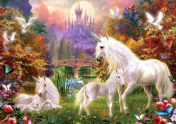 Castle Unicorns Unicorns Jigsaw Puzzle