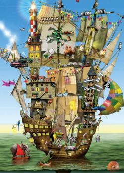 Norak'h Ark Boats Jigsaw Puzzle