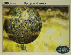 Up Up And Away Balloons Jigsaw Puzzle