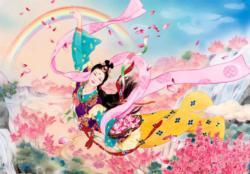 Goddess Asian Art Jigsaw Puzzle