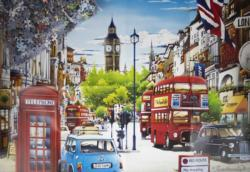 London Red Bus London Jigsaw Puzzle
