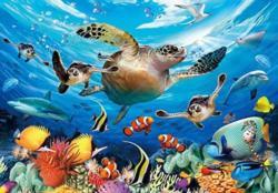 Sea Turtles Turtles Jigsaw Puzzle