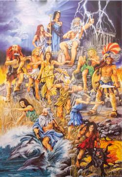 The Great Gods Greece Jigsaw Puzzle