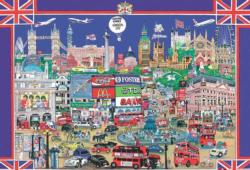 City Night London Night Jigsaw Puzzle