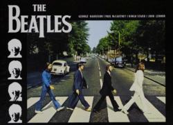 The Beatles Abbey Road Music Jigsaw Puzzle