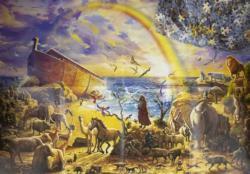 Noah'S Ark Ii Boats Jigsaw Puzzle