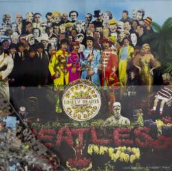 Beatles-Sgt Pepper's Lonely Hearts Music Jigsaw Puzzle
