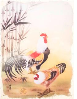 Rooster Chickens & Roosters Jigsaw Puzzle