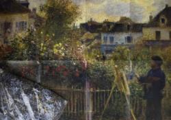 Monet Garden Garden Jigsaw Puzzle