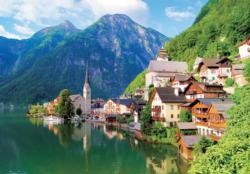 Hallstatt, Austria - Scratch and Dent Lakes / Rivers / Streams Jigsaw Puzzle