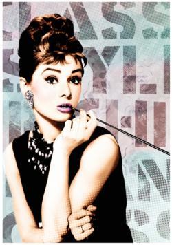 Audrey Hepburn 1 Photography Jigsaw Puzzle