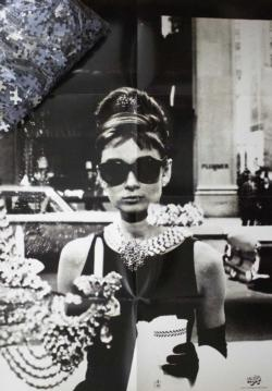 Audrey Hepburn 3 Photography Jigsaw Puzzle