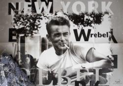 James Dean Famous People Jigsaw Puzzle