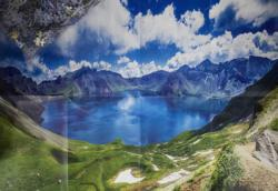 Baekdu Mountain Lakes / Rivers / Streams Jigsaw Puzzle