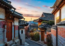 Bukchon Asia Jigsaw Puzzle