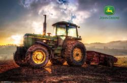 John Deere - Sunrise Poster Sunrise/Sunset Poster