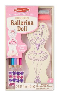Ballerina Doll Arts and Crafts