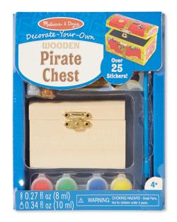 Pirate Chest Arts and Crafts