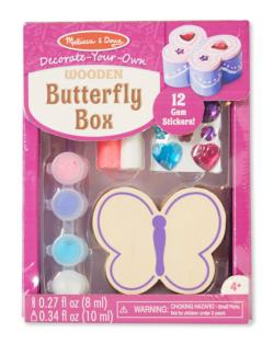 Butterfly Chest Arts and Crafts