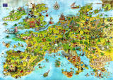 United Dragons of Europe Dragons Jigsaw Puzzle
