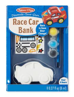 Race Car Bank - DYO Arts and Crafts
