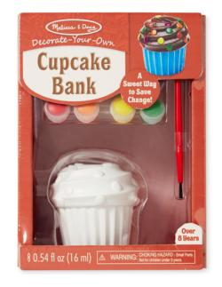 Cupcake Bank Arts and Crafts