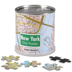 New York City Magnetic Puzzle Cities Magnetic