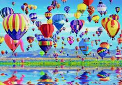 Balloon Reflections Photography Jigsaw Puzzle