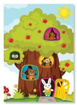 Treehouse Friends Cartoons Children's Puzzles