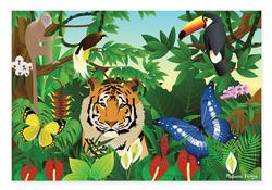 Wildlife Jubilee Tigers Jigsaw Puzzle