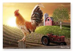 Sunrise Farm Farm Jigsaw Puzzle