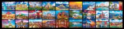 27 Wonders from Around the World - 51,300PC Puzzle by KODAK Premium Collage Impossible Puzzle