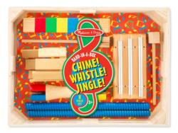 Band-in-a-Box Chime! Whistle! Jingle! Music Wooden
