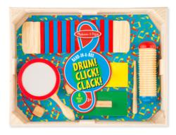 Band-in-a-Box Drum! Click! Clack! Educational Toy