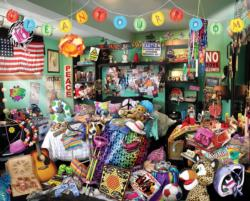 Clean Your Room Everyday Objects Jigsaw Puzzle