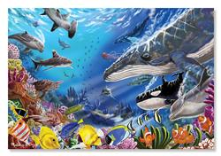 Living Ocean Under The Sea Jigsaw Puzzle