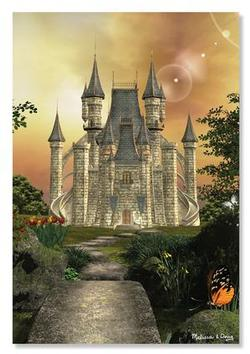 Towering Castle Fantasy Jigsaw Puzzle