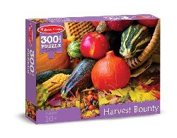 Harvest Bounty Food and Drink Jigsaw Puzzle