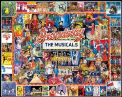 Broadway Collage Jigsaw Puzzle