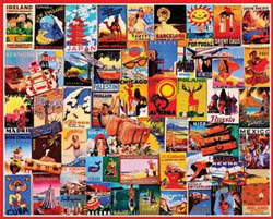 Travel Dreams (Posters) Travel Jigsaw Puzzle
