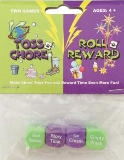 Toss A Chore/Roll A Reward Combo Pack
